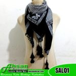 Sorban Almas Kasmiri Hitam SAL01
